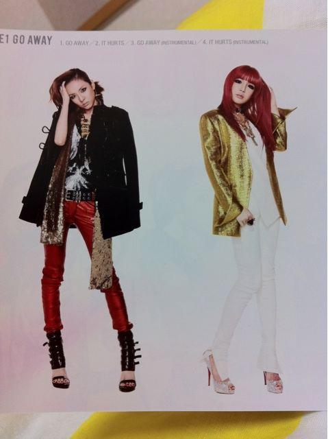 [Scans] 2NE1 Go Away Single Japan CD 6vqftu