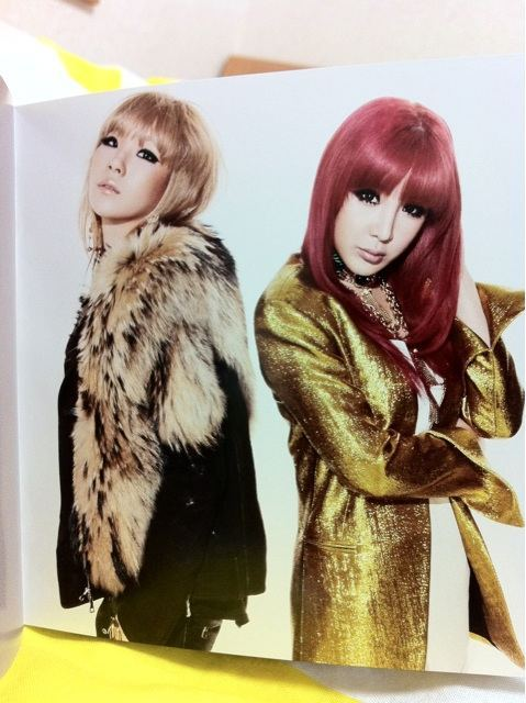 [Scans] 2NE1 Go Away Single Japan CD 91