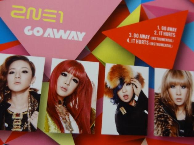 [Scans] 2NE1 Go Away Single Japan CD O0800060011613291317