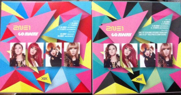 [Scans] 2NE1 Go Away Single Japan CD T9kpc