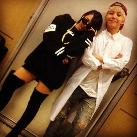 130922 SBS Inkigayo from GD's Instagram