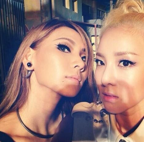 131027 CL Instagram with Dara