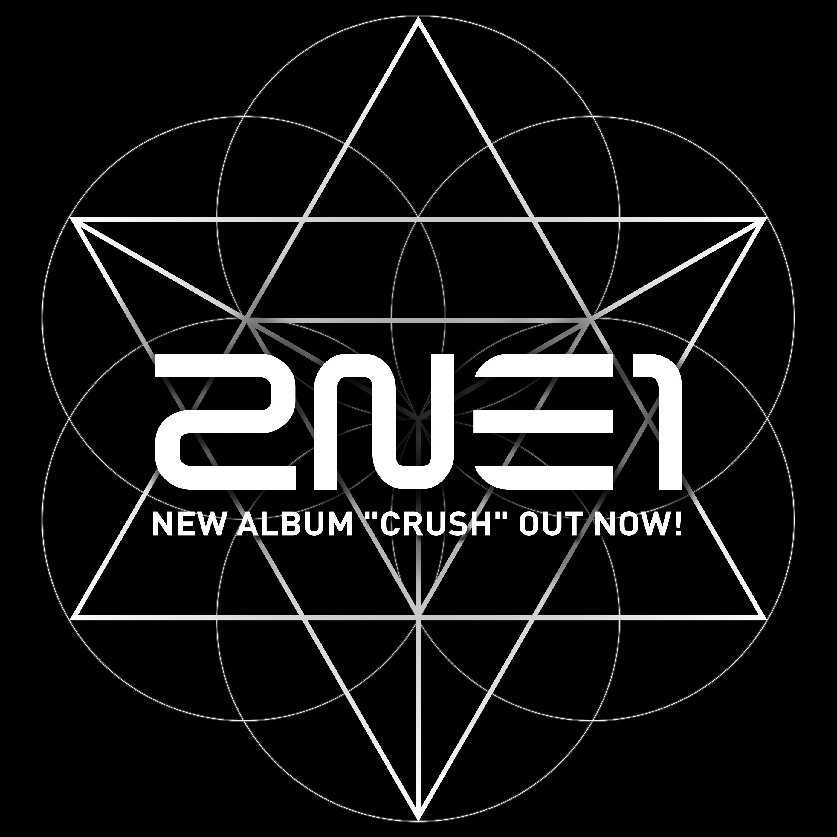 2NE1's 2nd Full-length album - CRUSH on iTunes
