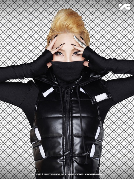 CL 2NE1 2nd Album CRUSH MTBD