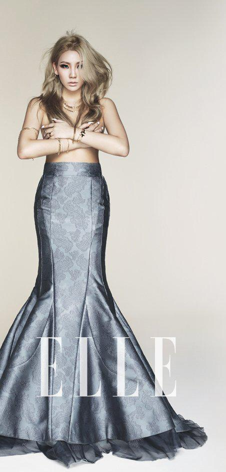 cl elle korea october 2014 m