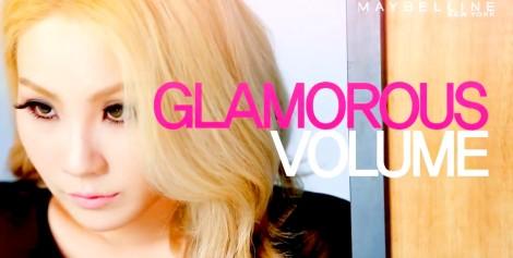 CL on Maybelline New York 'Mega Eyes' Mascara Photoshoot