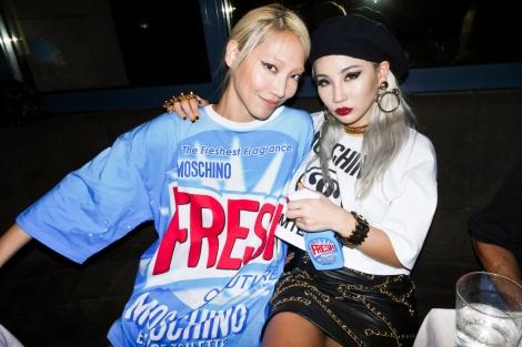 Soo Joo Park and CL